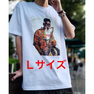 シュプリーム(Supreme)のSupreme Pharoah Sanders Tee L White(Tシャツ/カットソー(半袖/袖なし))