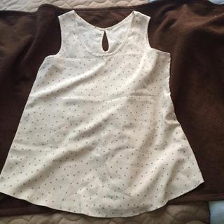 ジーユー(GU)のノースリーブ ブラウス○GU(シャツ/ブラウス(半袖/袖なし))