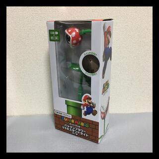 タイトー(TAITO)のスーパーマリオ パックンフラワー USBスタンドライト インテリア 雑貨(ゲームキャラクター)