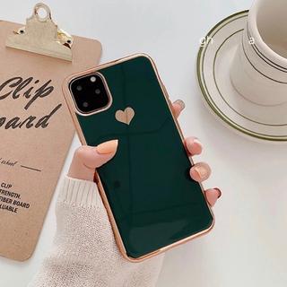 グリーン iPhone xs MAX(iPhoneケース)