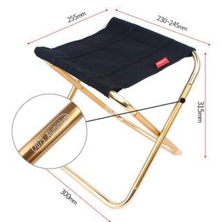 ドッペルギャンガー(DOPPELGANGER)のKVASS アウトドアチェア 折りたたみ コンパクト椅子 超軽量収納袋付き(テーブル/チェア)