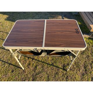 ドッペルギャンガー(DOPPELGANGER)の新品未使用(生産終了) ドッペルギャンガー DOD グッドラックキャンプテーブル(テーブル/チェア)