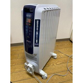デロンギ(DeLonghi)のデロンギ ドラゴンデジタルスマート オイルヒーター QSD0712-MB キ(オイルヒーター)