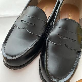 【yh様 専用】ローファー✴︎23センチ✴︎ブラック(ローファー/革靴)