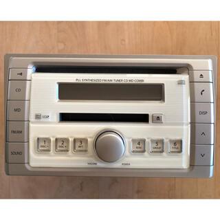 スズキ(スズキ)のスズキ ラパン HE21S 純正カーステレオ CD MD COMBI(カーオーディオ)