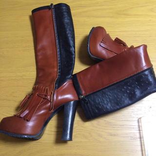 オープニングセレモニー(OPENING CEREMONY)のtoga gvgv タッセルブーツ 専用 二点まとめ買い(ブーツ)