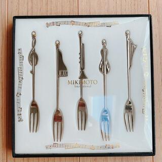 ミキモト(MIKIMOTO)のMIKIMOTO 真珠付きカトラリーセット(食器)