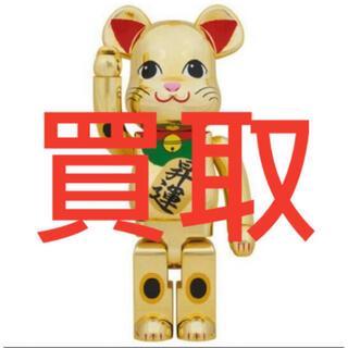 BE@RBRICK 招き猫 金メッキ 昇運 1000%(その他)