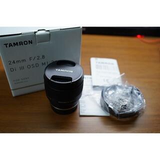 タムロン(TAMRON)の【美品】TAMRON 24mm F2.8 OSD Macro (レンズ(単焦点))