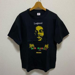 アンビル(Anvil)のBob Marley ボブマーリー 90s ヴィンテージ Tシャツ(Tシャツ/カットソー(半袖/袖なし))