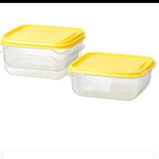 イケア(IKEA)の新品 IKEA タッパー 3点セット(容器)