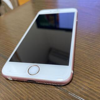 アップル(Apple)のジャンク iPhone6S SIMロックあり 16GB 最大バッテリー71%(スマートフォン本体)