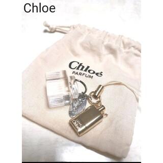 クロエ(Chloe)のクロエ Chloe 香水モチーフ ストラップ チャーム キーホルダー(キーホルダー)