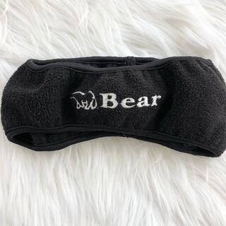 ベアー(Bear USA)のBEAR ベアー フリース 耳あて 通学 スポーツ スノボ(イヤマフラー)