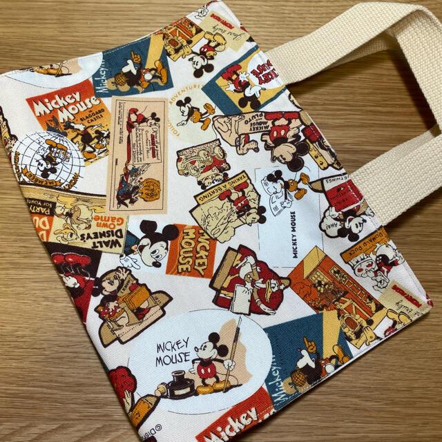 レビューブックカバー ディズニー ハンドメイド ハンドメイドの文具/ステーショナリー(ブックカバー)の商品写真