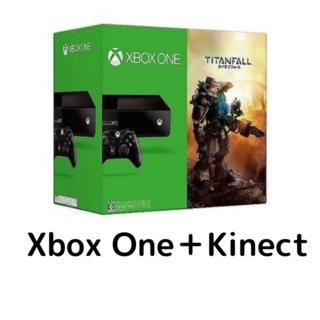 エックスボックス(Xbox)のXBOXONE本体+Kinect(家庭用ゲーム機本体)