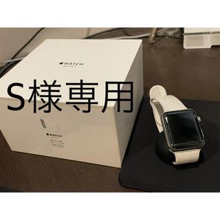 アップルウォッチ(Apple Watch)のApple Watch  Series 3 ステンレススチール セルラーモデル(腕時計(デジタル))