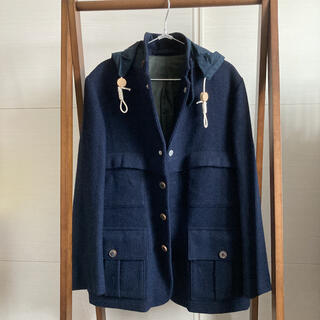 エンジニアードガーメンツ(Engineered Garments)のNigel Cabournハリスツイード SHERPA 1930's サイズ48(ブルゾン)
