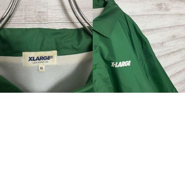 XLARGE(エクストララージ)の【アースカラー】エクストララージ ゴリラロゴ バックプリント コーチジャケット メンズのジャケット/アウター(ナイロンジャケット)の商品写真