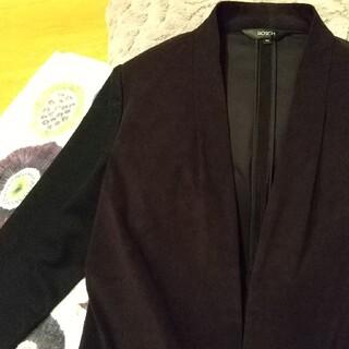 ボッシュ(BOSCH)の【美品】BOSCH(ボッシュ)ノーカラージャケット 袖異素材(ノーカラージャケット)
