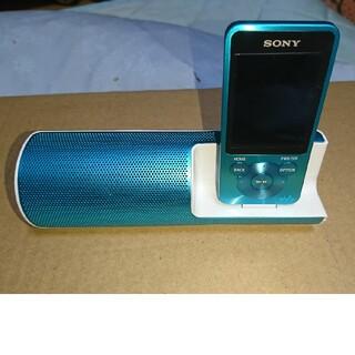 ウォークマン(WALKMAN)のNW-S15K ソニー ウォークマン 16GB ブルー(ポータブルプレーヤー)