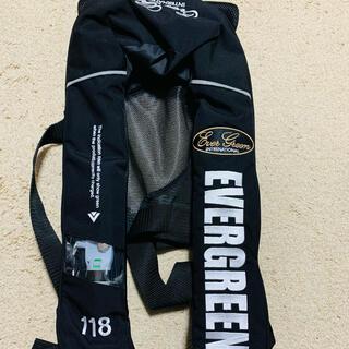 エバーグリーン E.G.インフレータブルジャケット タイプ5 ライフジャケット(ウエア)