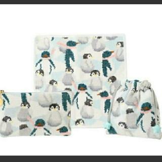 フェイラー(FEILER)のラブラリーバイフェイラー 福袋  ペンギンアイランド  3点セット(ハンカチ)