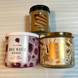Bath & Body Works - bath & body works キャンドル 3点セット ※中古含みます