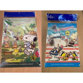 ディズニー(Disney)のディズニー USJ クリアファイル チケットケース 6枚セット(クリアファイル)
