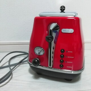 デロンギ(DeLonghi)のデロンギトースター DeLonghi アイコナ CTO2003J-R (調理機器)