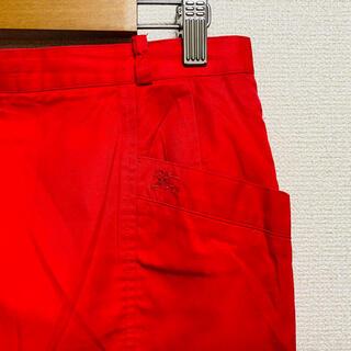 バーバリー(BURBERRY)の一点物 90年代vintage バーバリー(BURBERRY)騎士ロゴ スカート(ひざ丈スカート)