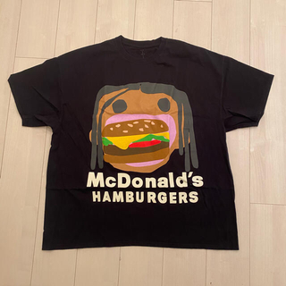 マクドナルド(マクドナルド)のTravis Scott(トラヴィス・スコット) × マクドナルド(Tシャツ/カットソー(半袖/袖なし))