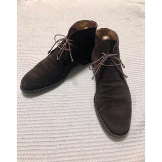 ランバンコレクション(LANVIN COLLECTION)のLANVIN COLLECTION スエード ブーツ(ドレス/ビジネス)