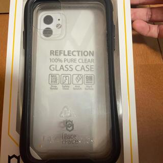ハイミー(HIMMY)のiFace iPhone11 ブラック クリア ケース(iPhoneケース)