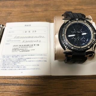 アクアノウティック(AQUANAUTIC)のアクアノウティック キング サブコマンダー オールブラック(腕時計(アナログ))