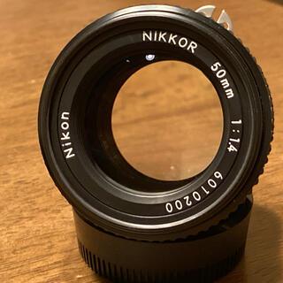 ニコン(Nikon)のNikon Ai-S Nikkor 50mm F1.4 MF単焦点レンズ(レンズ(単焦点))