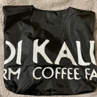 カルディ(KALDI)のカルディ KALDI エコバッグ 黒(エコバッグ)