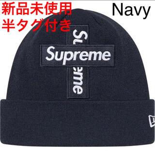 シュプリーム(Supreme)の新品 Supreme New Era Cross Box Logo Beanie(ニット帽/ビーニー)