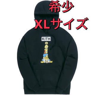 KITH FOR THE SIMPSONS FAMILY STACK フーディ(パーカー)