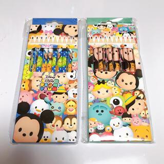 ディズニー(Disney)のディズニー ツムツム 10色 色鉛筆セット(色鉛筆)