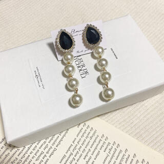 〜 bijou×pearl pierce / earring 〜(イヤリング)