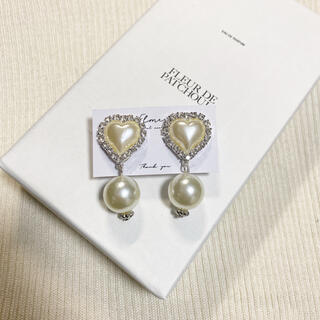 〜 heart bijou pierce / earring 〜(ピアス)