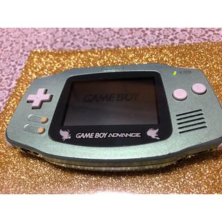 ゲームボーイアドバンス(ゲームボーイアドバンス)のゲームボーイアドバンス セレビィグリーン限定版(携帯用ゲーム機本体)