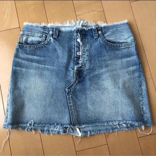 ロンハーマン(Ron Herman)のマディソンブルー5ポケットデニムスカート(ミニスカート)