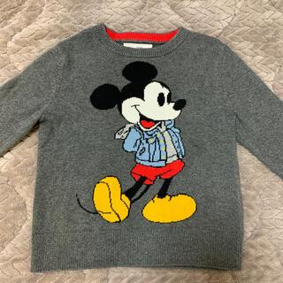 ベビーギャップ(babyGAP)のミッキーマウス ニットbaby gap 4years(Tシャツ/カットソー)