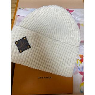 ルイヴィトン(LOUIS VUITTON)のLV ヴィトン  ビーニー ヴィトン  ニット帽(ニット帽/ビーニー)