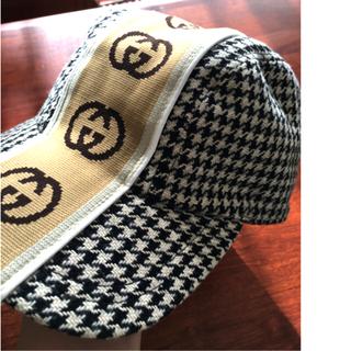 グッチ(Gucci)のGUCCIニット帽 (ニット帽/ビーニー)