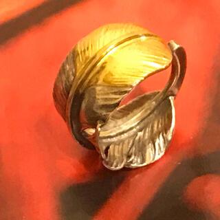 ゴローズ(goro's)のゴローズ 先金特大フェザーリング 右 調節可能(リング(指輪))