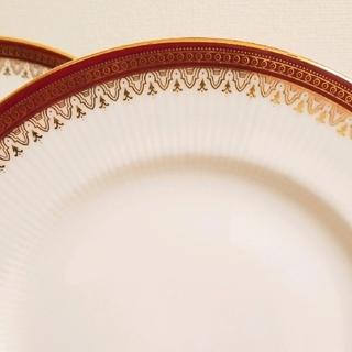 ロイヤルアルバート(ROYAL ALBERT)のパラゴンデザートソーサー2枚20㎝(食器)