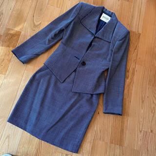BOSCH - 紺色 ネイビー 上下スカートスーツ